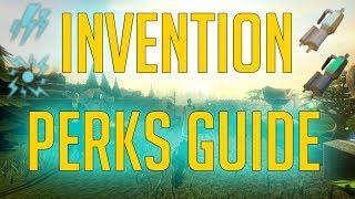 Runescape 3 - Invention Perks guide 2018   Combat & Skilling