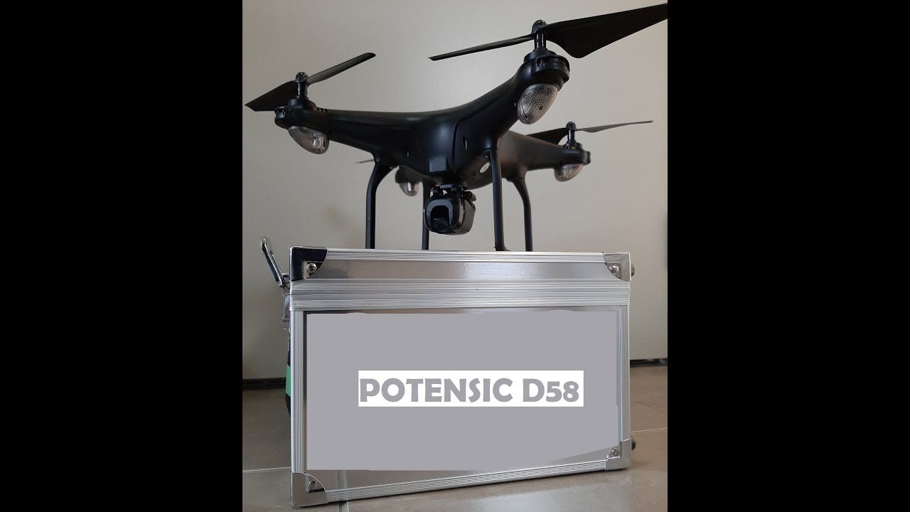 Download Potensic D58 Drone Review