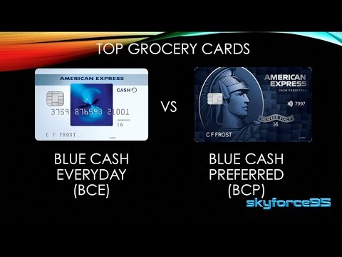 American Express Blue Cash Everyday Vs Blue Cash Preferred