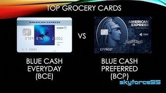 American Express Blue Cash Everyday vs Blue Cash Preferred