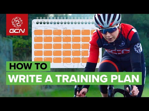 How To Make Your Own Cycling Training Plan