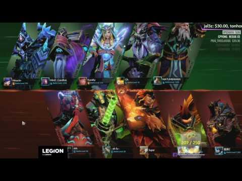[THAI] EPICENTER 2017 - Semifinals - LFY vs Liquid # Game 1