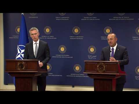 NATO Secretary General with Turkish Foreign Minister, 16 APR 2018, Part 2/2