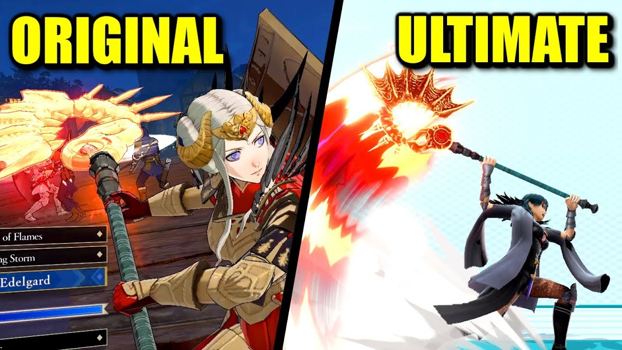 Origin of Byleth Moves, Animations & Costumes in Super Smash Bros. Ultimate thumbnail