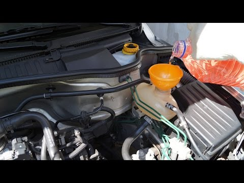 opel corsa - engine coolant change - youtube  youtube