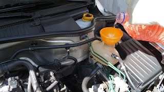 Opel Corsa - Flush and Change the Coolant