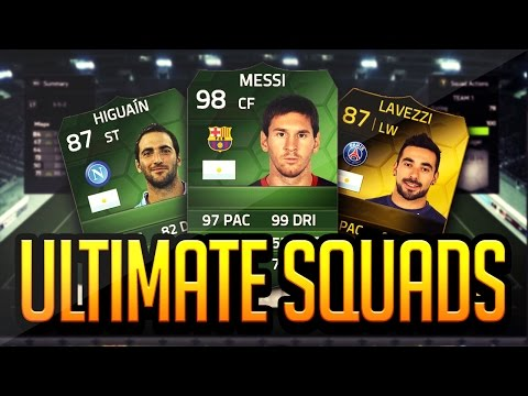 FIFA 14 - ULTIMATE SQUADS - WORLD CUP FINAL - FIFA 14 ULTIMATE TEAM
