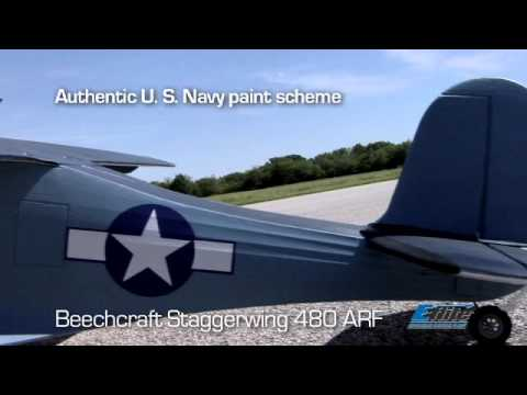 Beechcraft Staggerwing 480 ARF by E-flite