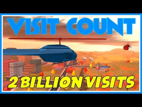 Roblox Jailbreak Live Visit Count | Countdown To 2 BILLION Visits! |  HAPPENING TODAY! | Segment 8 🔴