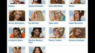 THE BEST CAST FROM RUPAUL