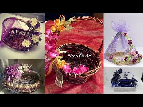 Decorative idea of wedding gift packing ideas || wedding baskets.