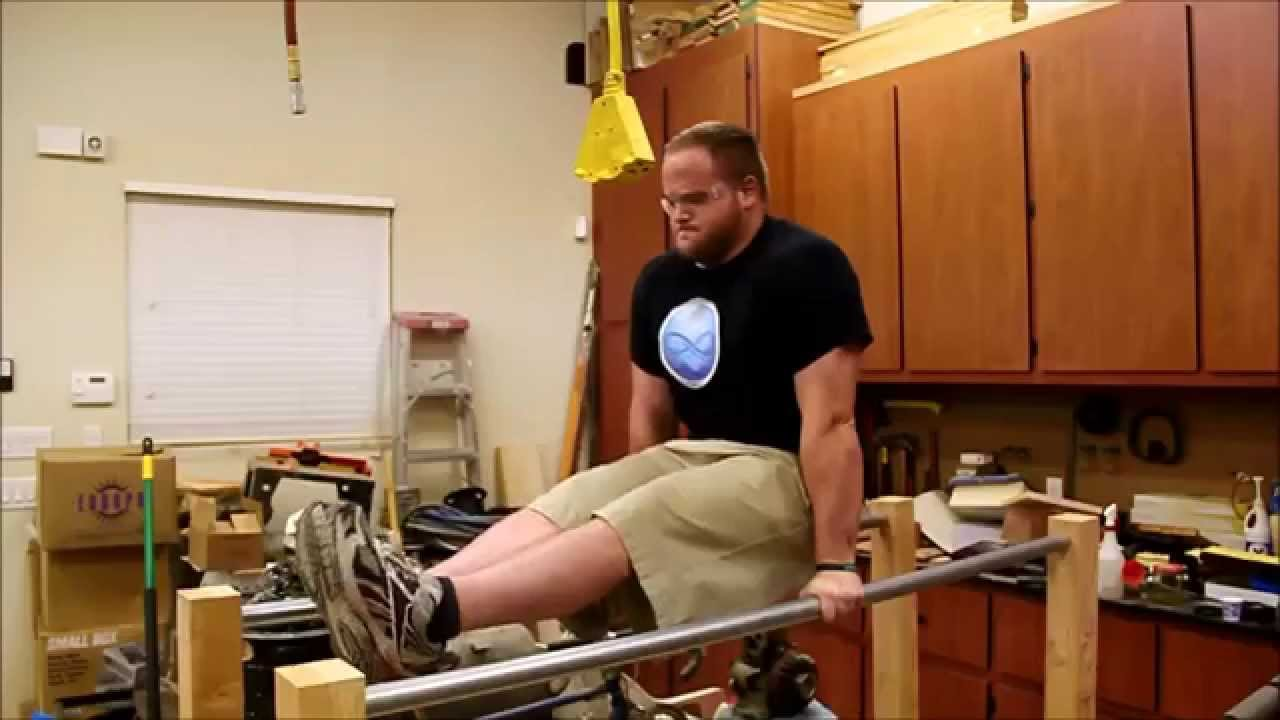 How to build parallel bars youtube for What is needed to build a house
