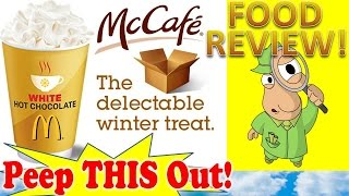 Mcdonald's® White Hot Chocolate Review Plus Special Unboxing! Peep This Out!