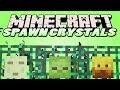 Minecraft Mods - Spawn Crystals - CUSTOM MOB SPAWNERS (Minecraft Mod Showcase)