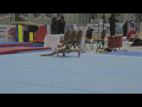 Alexis DiDomizio Floor Provincials 2018