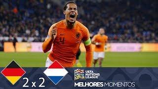 ALEMANHA 2 X 2 HOLANDA - MELHORES MOMENTOS - NATIONS LEAGUE (19/11/2018)