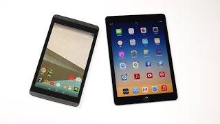 Nvidia Shield Tablet vs. Apple iPad Air 2 : Benchmark   tabtech