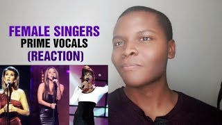 """FEMALE SINGERS - """"When Was Their Prime"""" (REACTION)"""