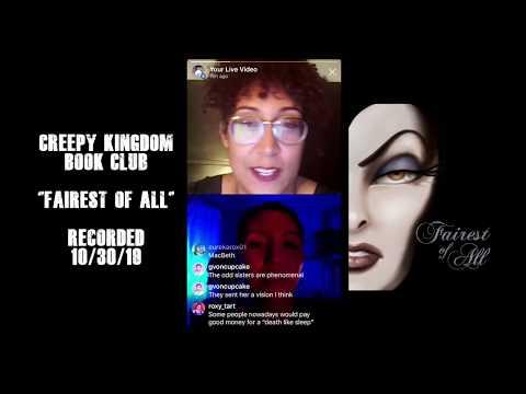 "Creepy Kingdom Book Club - ""Fairest of All"" Live Stream"