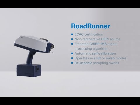 RoadRunner L Handheld Explosives And Drug Trace Detector
