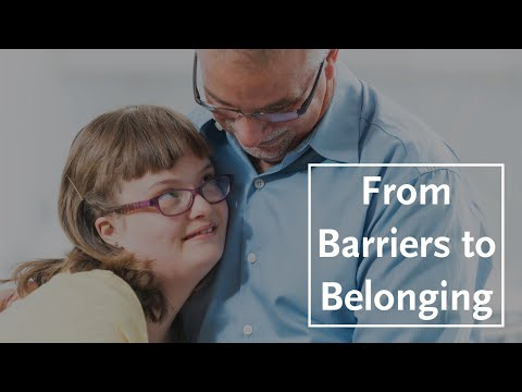 From Barriers to Belonging: The Church and People with Disabilities