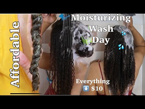 moisture-retention-affordable-wash-day-routine-|-juicy-curls
