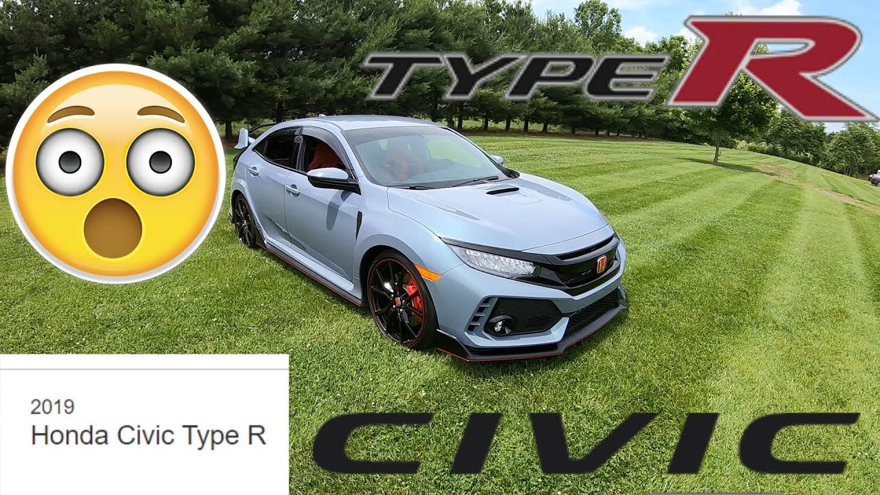 2019 Honda Civic Type R Full Review and Drive - BETTER THAN A 2 DOOR!