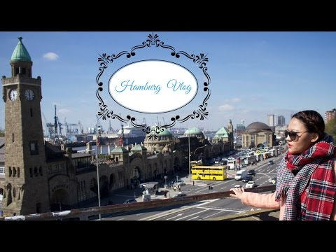 Hamburg Travel Vlog ⎮Miniature Wonderland ⎮Hamburg Harbour ⎮Alter Elbtunnel & More!