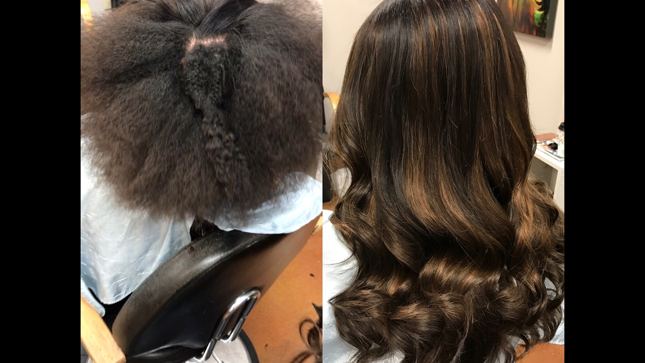4 Months After Sewin Extension Removal New Hair Lace Closure Installation Remi Gold