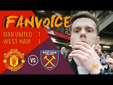 Man United draw 1-1 with West Ham Zlatan Ibrahimovic scores after Sakho early goal | 90min FanVoice