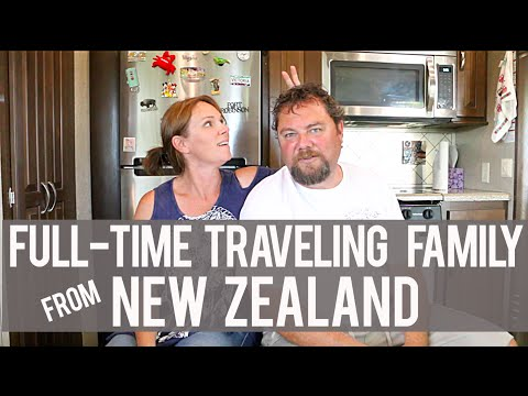 New Zealand Full-time Traveling Family