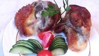 Новогодние рецепты Жареная свинина с сыром в панировке рецепт