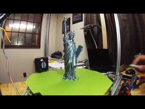 Statue of Liberty Time Lapse Print
