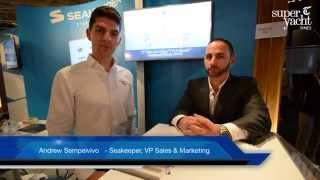 SuperYacht Times speaks to Andrew Semprevivo, VP of Sales & Marketing of Seakeeper at METSTRADE 2015
