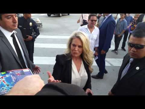 Beverly D'Angelo Signing Autographs for fans in Hollywood