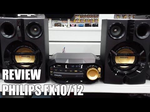 Review Philips FX10/12 Nueva microcadena Bluetooth 2016