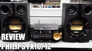 Review Philips FX10/12 Nueva microcadena Bluetooth