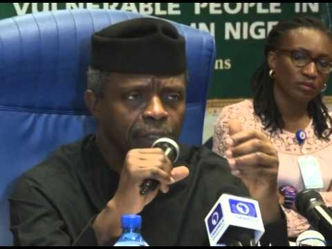 Vice President Osinbajo's Remarks At The Roundtable on Vulnerable People In Nigeria
