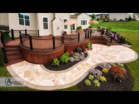 Deck Contractors- Custom Curved Designs in Bucks County, PA.