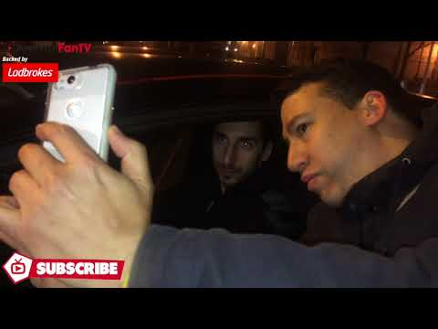 Arsenal 1-2 Östersunds | Henrikh Mkhitaryan Stops For Fans Outside Emirates Stadium!