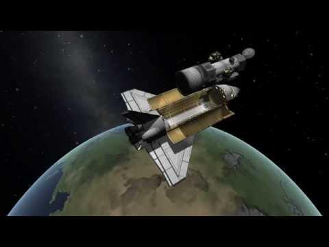 KSP STS Challenges - Hubble Space Telescope Deployment Playthrough