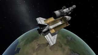 KSP STS Challenges - Hubble Space Telescope Deployment Playthrough