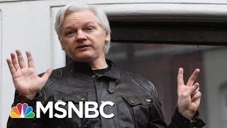 WaPo: Wikileaks Boss Julian Assange Charged According To Court Documents | The 11th Hour | MSNBC thumbnail