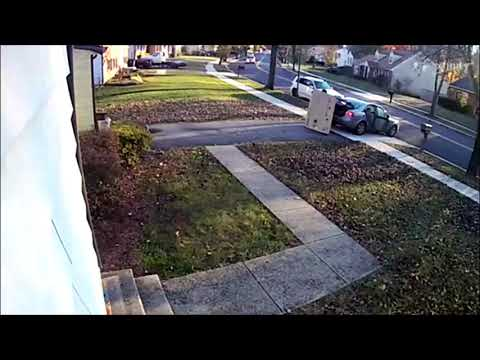 Wells Adams - Porch Pirate Has Very Hard Time Stealing a TV