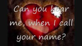 Call your name-Daughtry lyrics