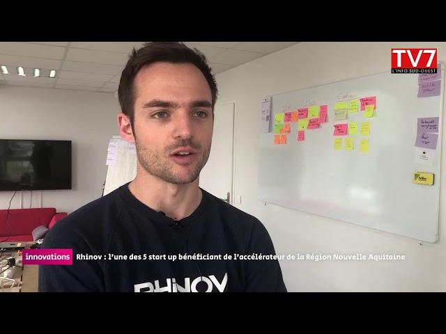 Innovations : Rhinov, une start-up au service de l'aménagement intérieur