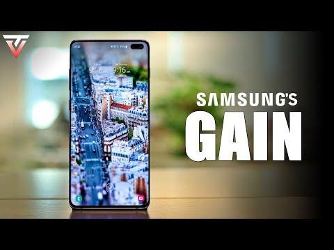 Huawei's Loss, Samsung's Gain