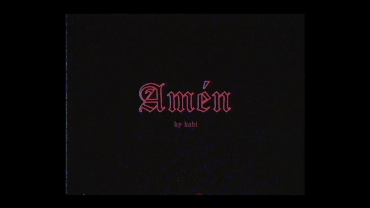 babi - amén (letra)