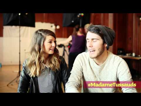 Chatting with Zoella & Alfie Part 1 | Madame Tussauds London