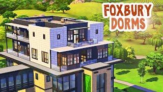 Foxbury Dorms 🦊 || The Sims 4: Speed Build
